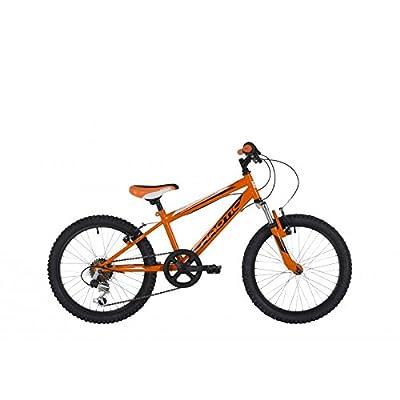 "Freespirit Junior 2015 Chaotic Mountain Bike in Orange/Black 11"" Frame"