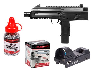 Umarex Steel Storm CO2 BB Gun Kit air pistol