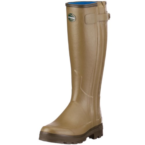Le Chameau Chasseurnord Neoprene Lined - Green 41 Calf - 39