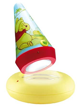 Winnie The Pooh Rechargeable Go Glow Night Light and Torch