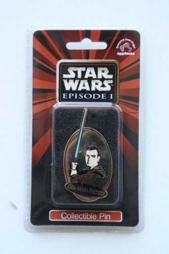 Star Wars Episode 1 Obi-Wan Kenobi Collectible Pin - 1