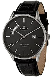 Edox Les Vauberts Day Date Automatic Men's Automatic Watch 83010-3N-NIN