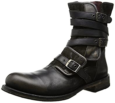 Amazon Com John Varvatos Men S Eg Triple Buckle Boot