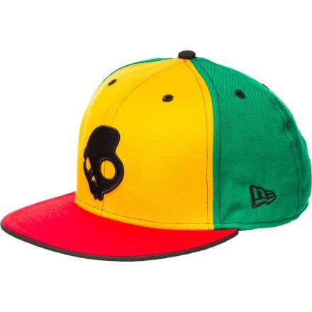 Skullcandy Team New Era 9Fifty Snapback Hat Green, One Size