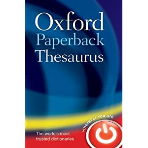 Image: Cover of The Oxford Paperback Thesaurus
