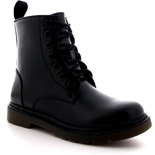 Mens Lace Up Military Combat Ankle Boots