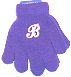 One Pair Magic Gloves with Customer Chosen Monogram for Ages 1-3 Years