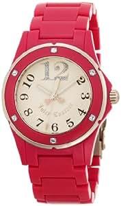 Juicy Couture Women's 1900580 Rich Girl Hot Pink Plastic Bracelet Watch