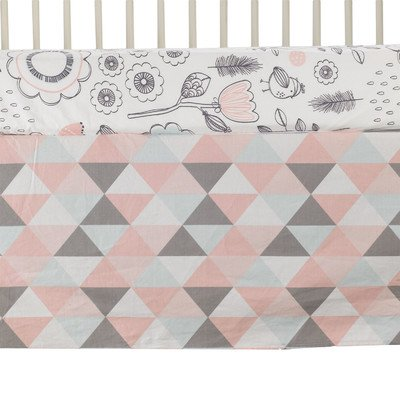 Lolli Living Sparrow Crib Skirt, Tripod - 1