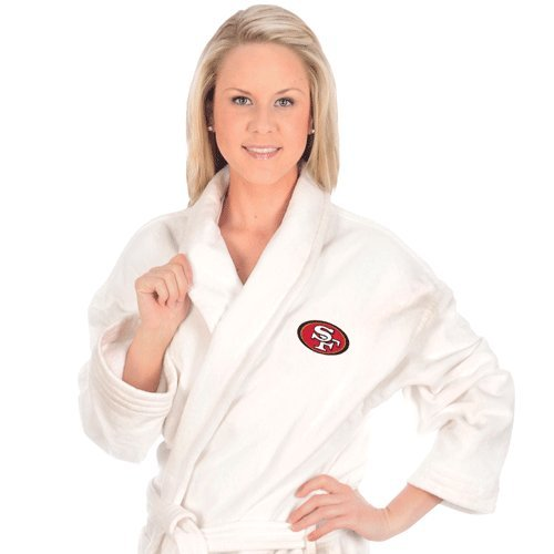 San Francisco 49ers White Robe at Amazon.com