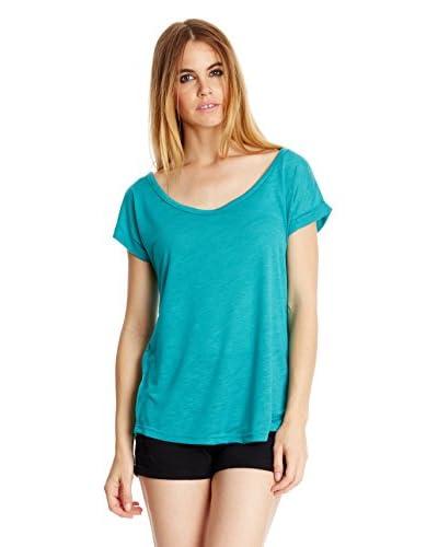 Peace & Love T-Shirt Manica Corta [Blu Royal]