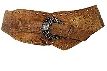 tfj s wide western fashion hip waist belt size small