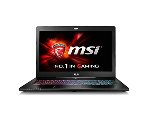 MSI GS72 6QE Stealth Pro 4K Gaming Laptop (Black) - Intel Core i7 2.6 GHz Processor, 16 GB RAM, 1256 GB Storage, Windows 10)