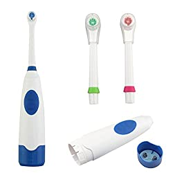 JEWELSCART.IN Automatic Battery SM28 For Adults and Kids electric power Toothbrush with total 3 heads