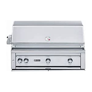 Lynx L42ASR-LP All Pro Sear Built-In Propane Gas Grill with Rotisserie, 42-Inch