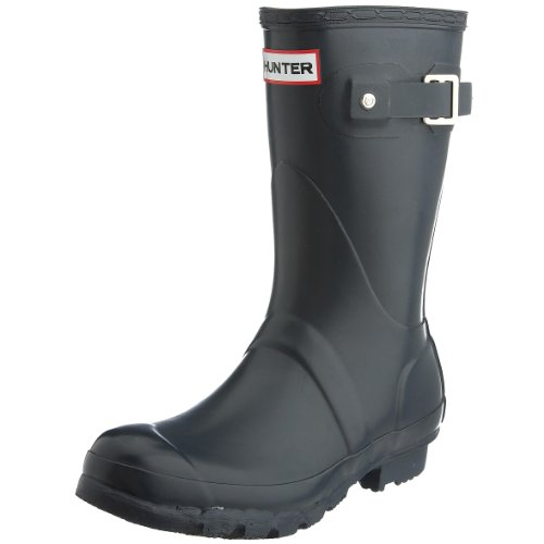 Hunter Unisex-Adult Original Short Navy Wellington Boot W23758 10 UK