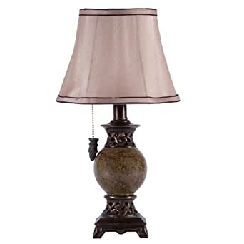 small green accent table lamp. Black Bedroom Furniture Sets. Home Design Ideas