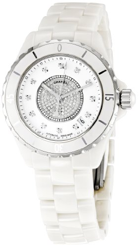 Chanel Men's H1759 J12 Diamond Dial Watch