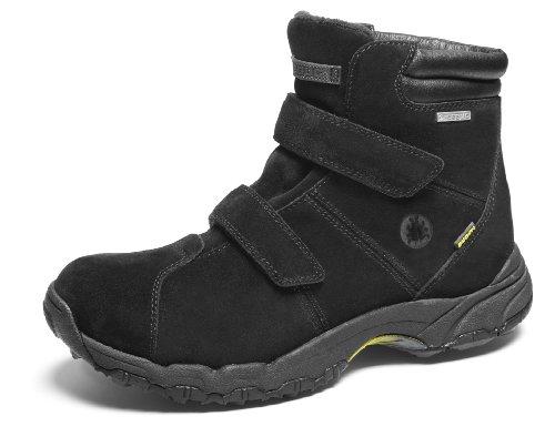 Icebug Men's Ryum Bugrip Walking Shoe,Black,7.5 M US