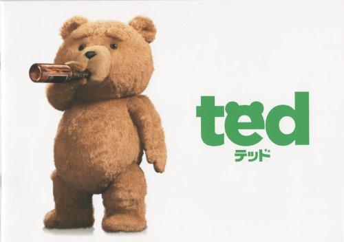 ted テッド 映画パンフレット 監督 セス・マクファーレン 出演 マーク・ウォールバーグ、ミラ・クニス、セス・マカファーレン、ノラ・ジョーンズ