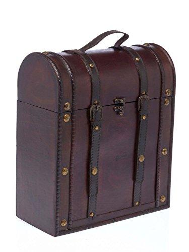nostalgie picknickkorb box flaschenkorb weinregal truhe koffer holz antik stil. Black Bedroom Furniture Sets. Home Design Ideas