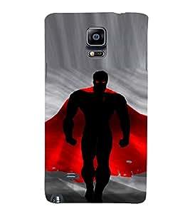 EPICCASE Red fury Mobile Back Case Cover For Samsung Galaxy Note 4 (Designer Case)