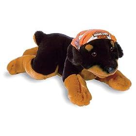Stuffed Rottweiler
