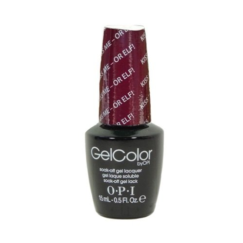 OPI GelColor - Gwen Stefani Holiday Collection 2014 - Kiss Me - Or Elf! - 0.5oz / 15ml