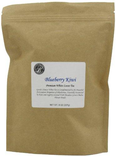 Boston Tea Finest Grade White Tea, Blueberry Kiwi Resealable Pouch