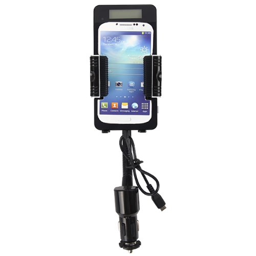 Excelvan Fm Transmitter 3.5Mm Audio-In Car Charger Mount Holder With Remote Control For Samsung Galaxy S Iii Siv S3 S4 I9300 I9500