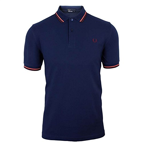 Fred Perry Polo da uomo Carbon Top blu Blue XX-Large