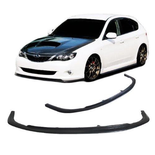 Fit For 08-10 Subaru Impreza WRX STI CS Style Front Bumper Lip Spoiler Bodykit