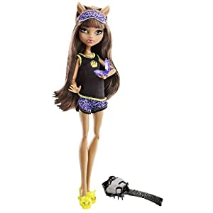 Monster High Dead Tired Clawdeen Wolf Doll