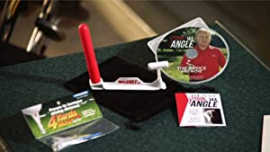 TourAngle144 Golf Swing Training Aid - Multiple swing benefits for all skill levels. (Long & Short Game)