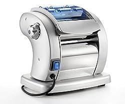 Imperia Pasta Presto 6 roller with Tagliatelle and Fettuccine cutters Electric pasta machine Blue