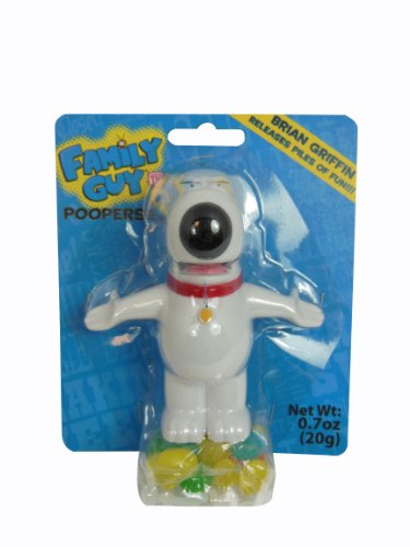 Family Guy Poopers, Brian, 0.70 Ounce