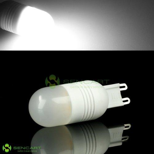 G9 3W 270Lm 5500K 6-Smd 5060 Led Pure White Light Bulb (Ac 220~240V) - Sencart