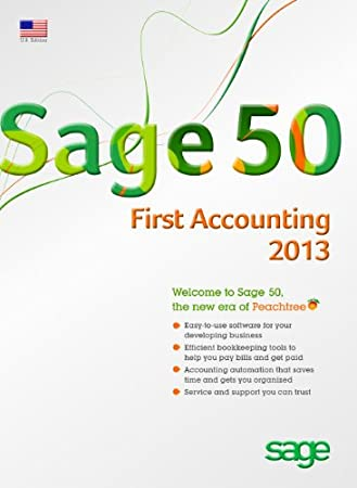 Sage 50 First Accounting 2013