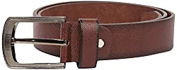 Lotus Designer Men's Belt (Brown)