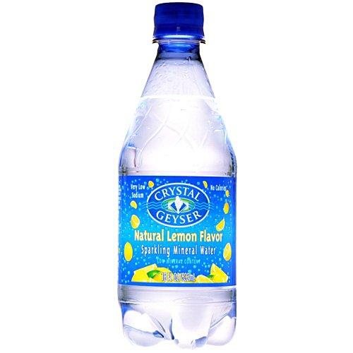 クリスタルガイザー スパークリング レモン 532ml×24本 [並行輸入品]