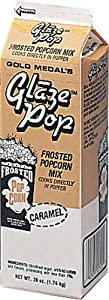 Gold Medal Frosted Caramel Popcorn Glaze Mix 28 oz