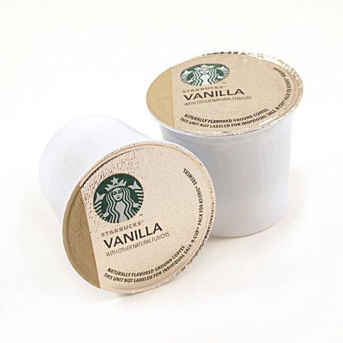 Starbucks Vanilla Coffee Keurig K-Cups, 32 Count (0.35 Oz Each) front-586512