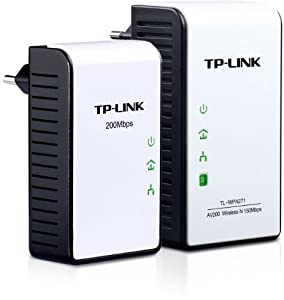 TP-Link - 150MBPS WIRELESS N AV200 POWER