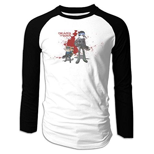 AIJFW Video Game Men's Crewneck Sleeve Raglan Shirts M