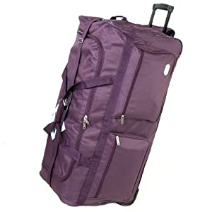 Borderline Travel Holdall Weekender Bag (Black/Grey)