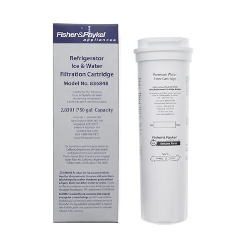 Fisher & Paykel 836848 Refrigerator Water Filter (Fischer And Paykel Refrigerator compare prices)