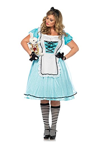 Halloween 2017 Disney Costumes Plus Size & Standard Women's Costume Characters - Women's Costume CharactersTea Time Alice Costume - Plus Size