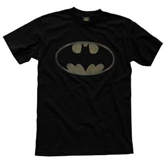 amazoncom batman vintage logo tshirt officially