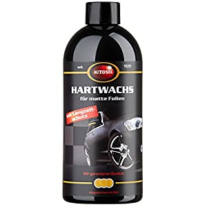 Autosol 11 000950 Hard Wax with Long-Term protection for 500 ml Matte Foil
