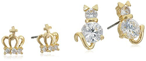 betsey-johnson-crown-and-cat-duo-set-stud-earrings-by-betsey-johnson